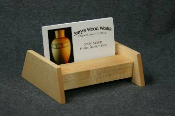 Maple Business Card Display